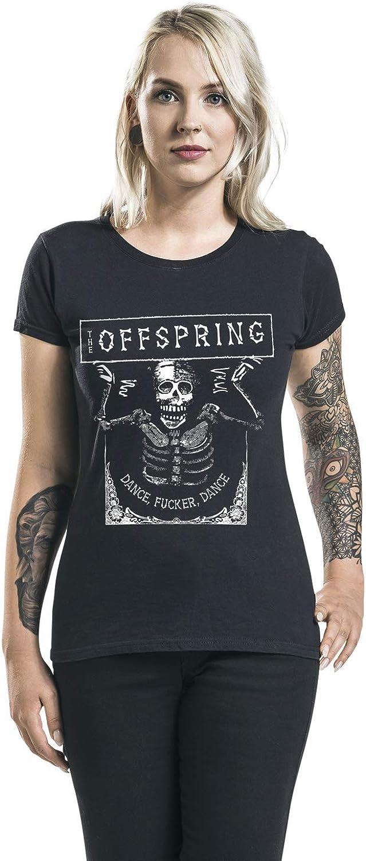 The Offspring Dance Fucker Frauen T-Shirt schwarz Band-Merch Bands
