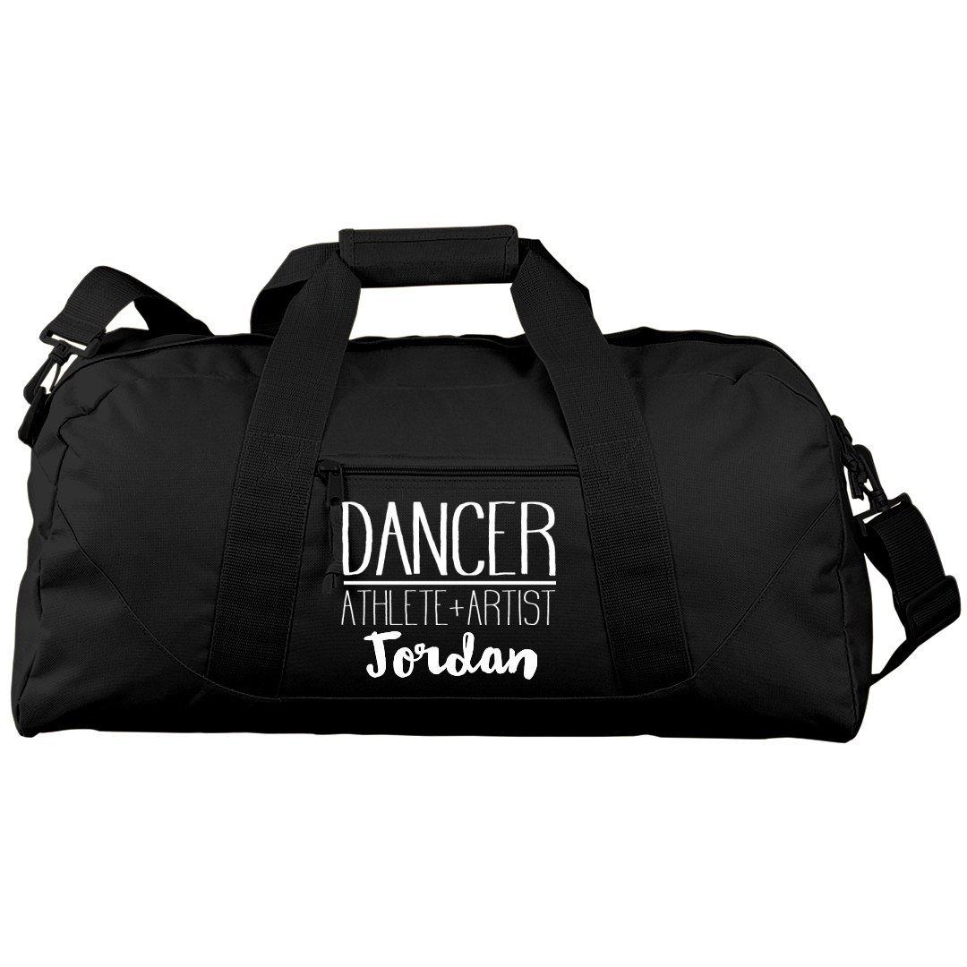 Jordan Dancer, Athlete & Artist: Liberty Large Square Duffel Bag
