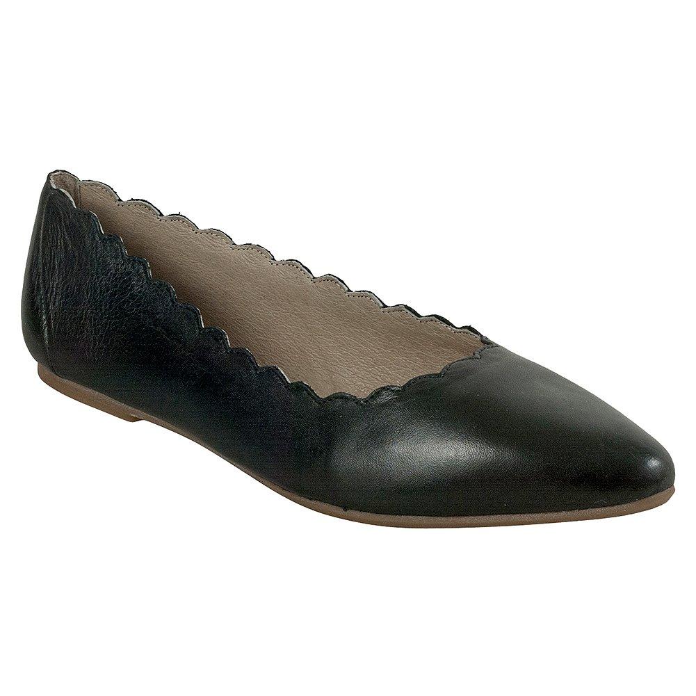 Miz Mooz Women's Bailey Ballet Flat B075K8STJT 9 B(M) US|Black
