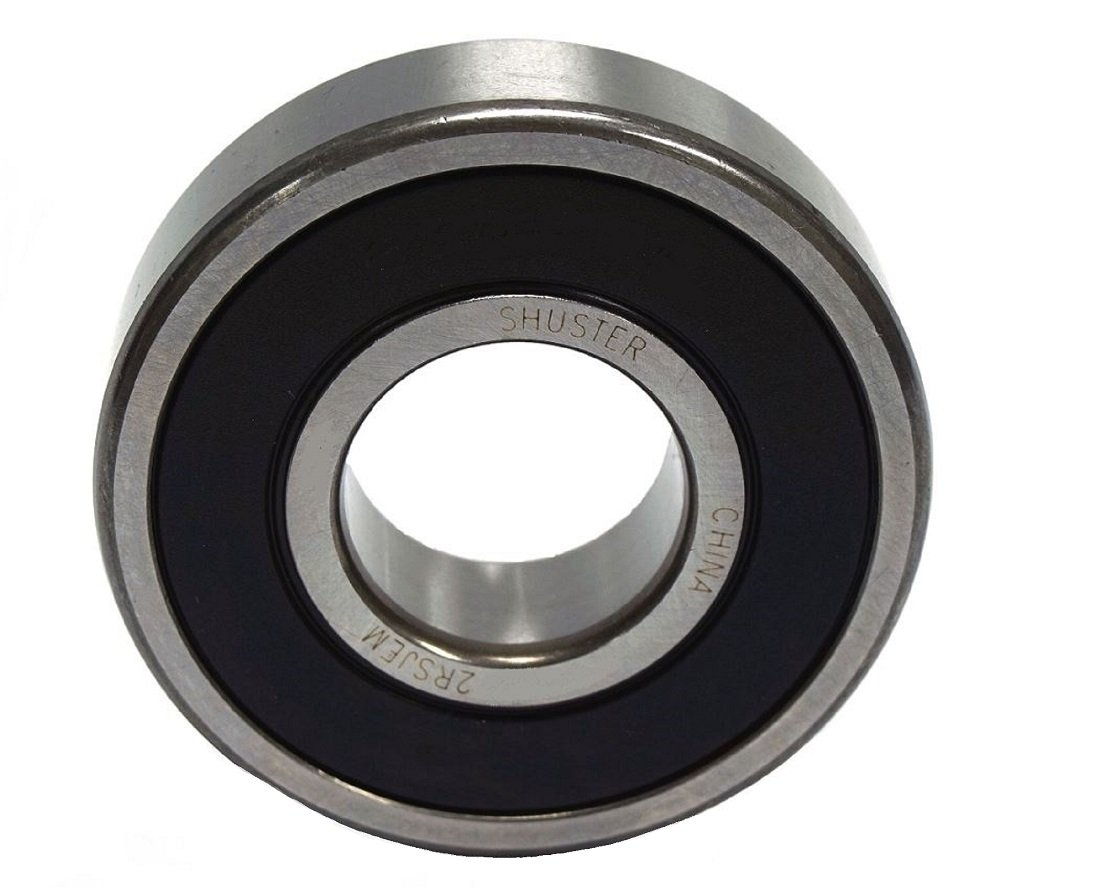 Shuster 6318 2RS JEM Deep Groove Ball Bearing 190 mm OD 43.0 mm Width Double Sealed C3 Clearance Single Row 90.0 mm ID High Carbon Chrome Bearing Steel 190 mm Height 190 mm Length