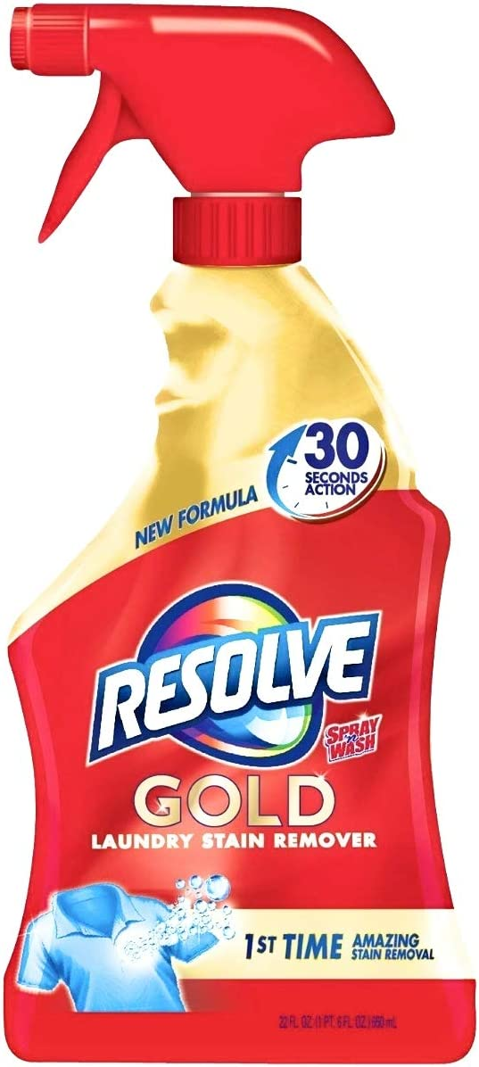 Resolve Laundry Stain Remover, Gold, 22 Fl. Oz.