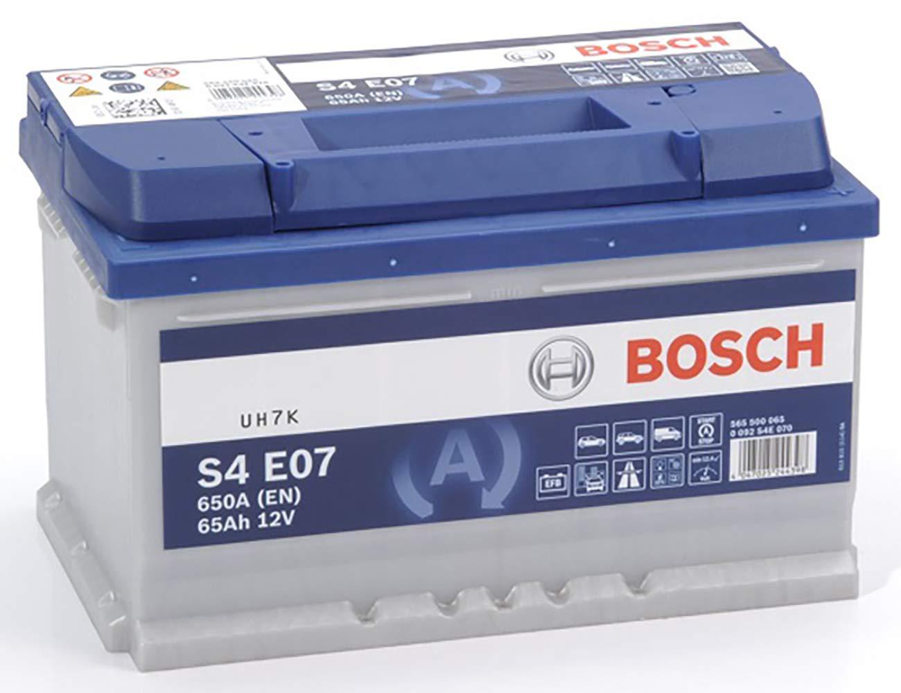 Bosch-S4E07 Batteria Auto 65A/h-650A 0092S4E070