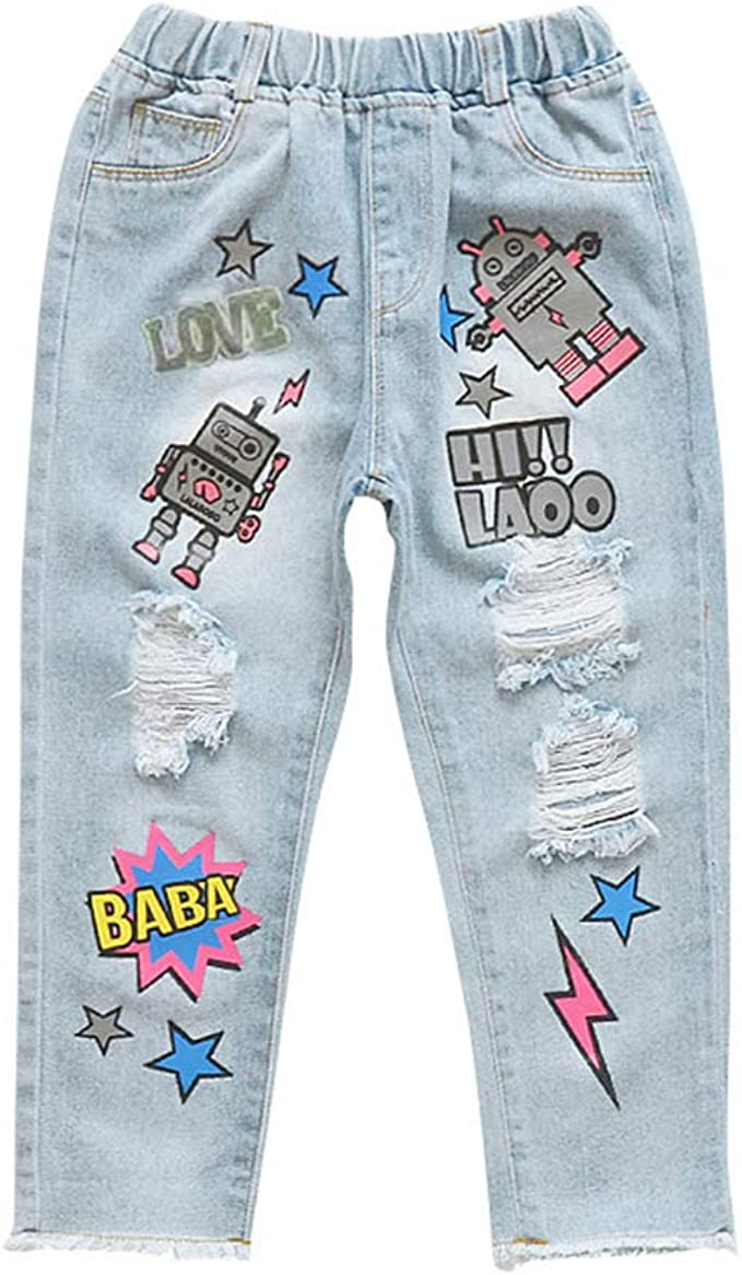 Cute Children Baby Kids Girls Cotton Bird Printed Stretchy Pant Leggings Trouser