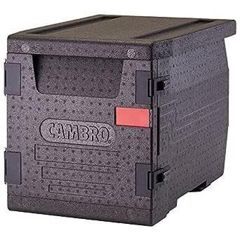 Cambro Cam Go Box Contenedor Isotermico Epp, Plástico, Negro ...