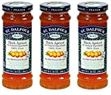 St. Dalfour Conserve Apricot, 10 oz (Pack of 3)