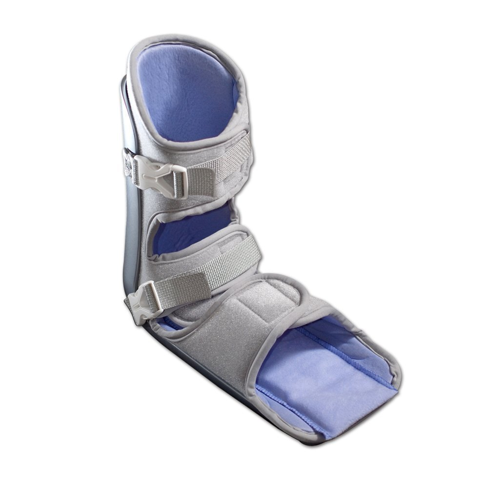 Nice Stretch 90 Patented Plantar Fasciitis Night Splint with Cold Therapy and Non-Skid Sole, Small/Medium by Brownmed