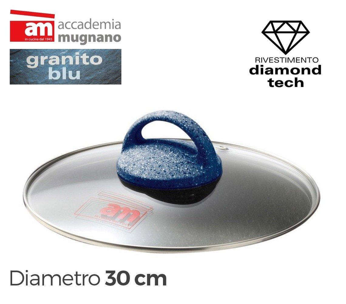 Tapa vidrio 30cm para ollas cacerolas y sartenes - Accademia Mugnano ...