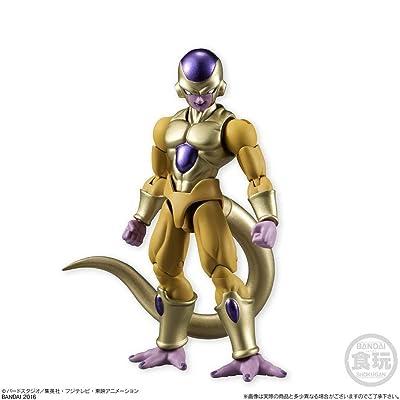 Bandai Shokugan Shodo Dragon Ball Z Golden Frieza Action Figure 3.75 Inches: Toys & Games