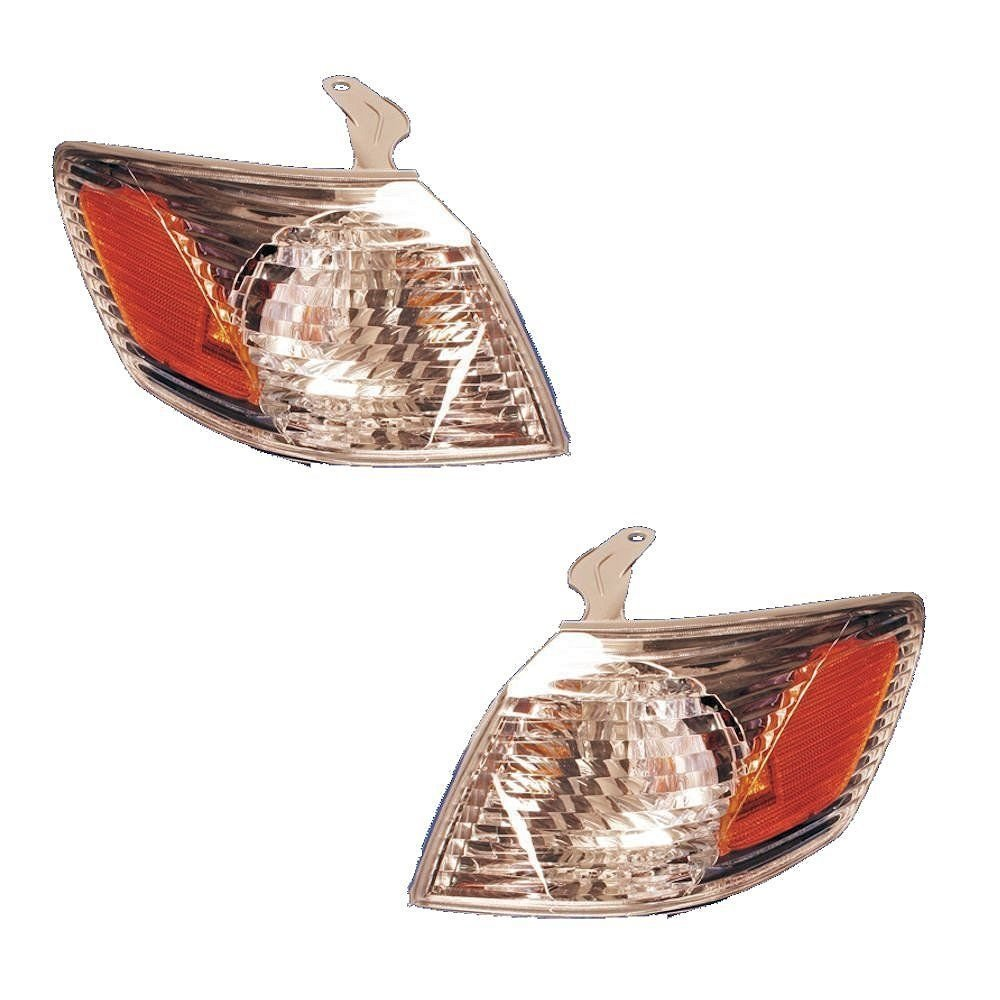 Toyota Camry Replacement Corner Light Assembly - 1-Pair AutoLightsBulbs