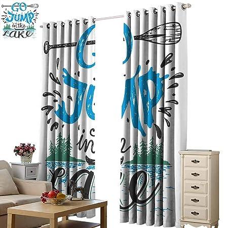 Cortinas decorativas cálidas para decoración de cabina familiar ...