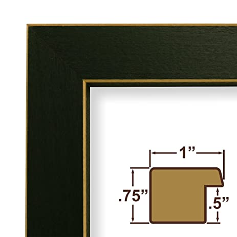 Amazon.com - 10x18 Picture / Poster Frame, Wood Grain Finish, 1 ...