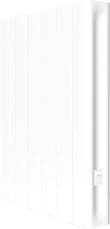 Jusqu/à +//- 8 m/² Blanc Utilisation id/éale +6h//jour Haverland RCO-3 500 W Design Ultra-Compact Programmation Connexion sans fil Bluetooth Radiateur /électrique /à inertie fluide caloporteur