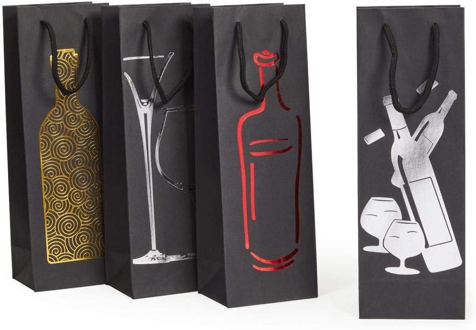 Bachelorette Party Favor Bags Liquor Pint Bottle Gift Bag Whiskey Bottle Bag Favor Flask Gift Bag Birthday Gift Bag Wedding Favor Bags