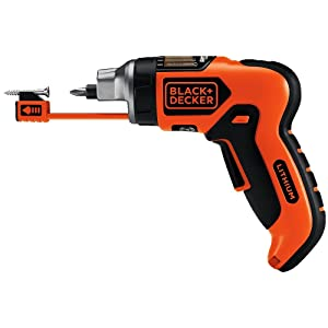 BLACK+DECKER LI4000 3.6-Volt Lithium-Ion SmartSelect Screwdriver with Mag