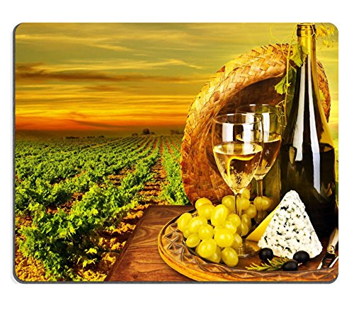 msd-customized-natural-rubber-mouse-pad-personalized-custom-picture-wine-and-cheese-romantic-dinner-