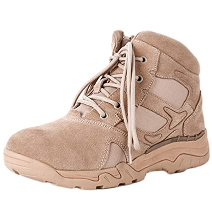 c94506fe149 Amazon.com : Ageaoa Men's Desert Military Boots Combat Boot Patrol ...