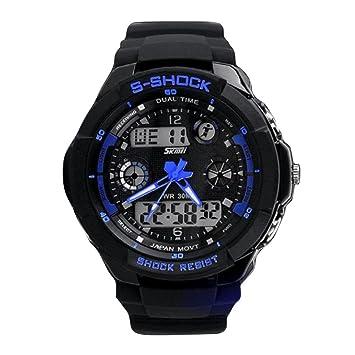 Feixiang Relojes & Accesorios♈Relojes Para Hombres Reloj Deportivo Relojel Reloj Militar De Los Deportes