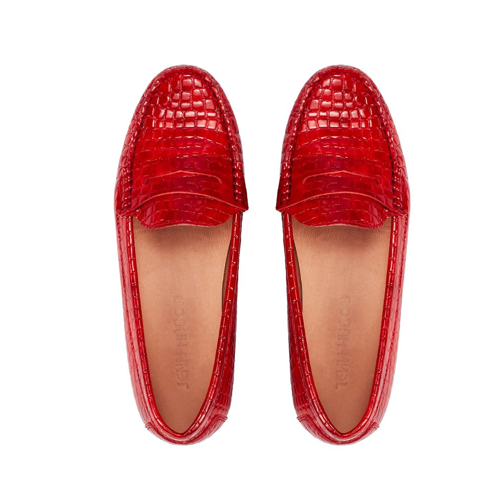 JENN ARDOR Penny Loafers For Women