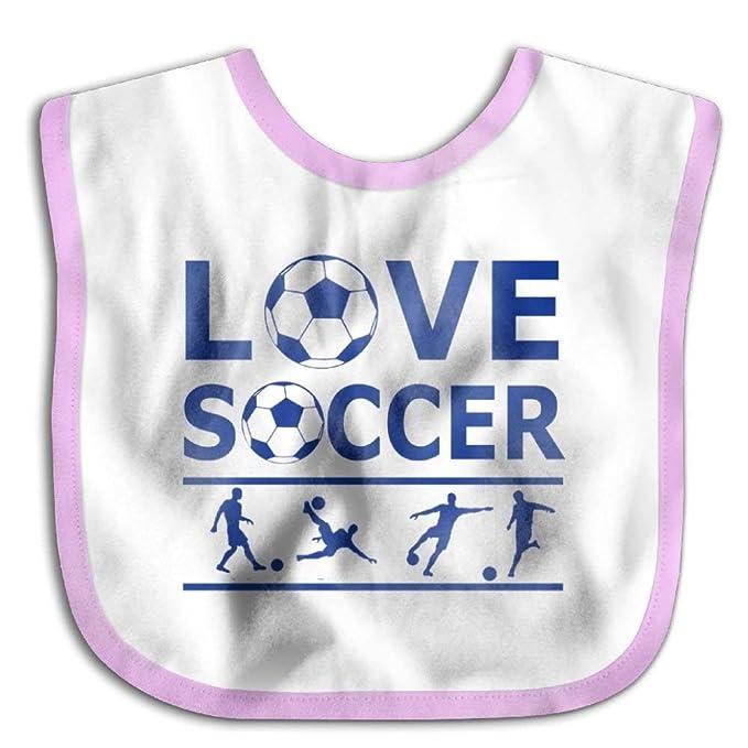 d877a098710b Amazon.com  Hot Sale Children Burp Cloths Love Soccer Casual Baby ...