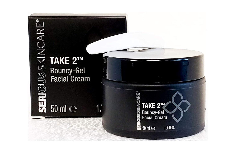 Serious Skincare TAKE 2 Bouncy-Gel Facial Cream 1.7 fl oz