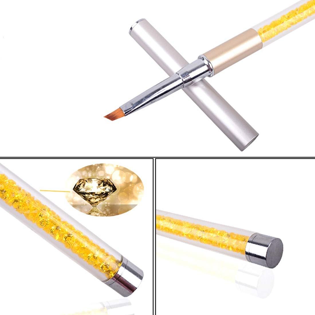 Diseño del arte del clavo de acrílico que puntea el cepillo polaco de la pluma de la pintura 1PCS / Set ChenYao-Swansea