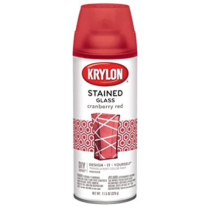 Krylon Stained Glass Paint.Krylon K09026000 Stained Glass Paint 11 5 Oz Cranberry Red
