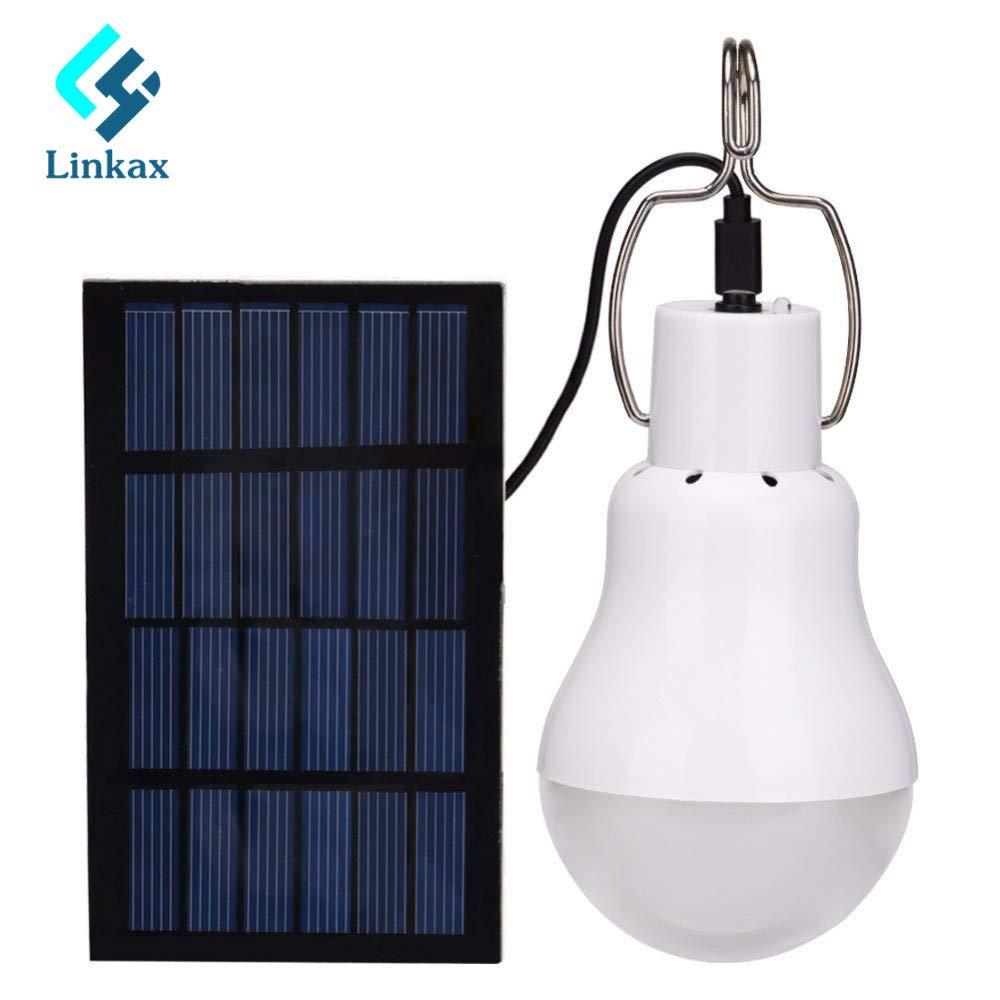 New 15W 130LM Solar Lamp Powered Portable Led Bulb Light Solar Led Lighting Solar Panel Camp Tent Night Fishing Light