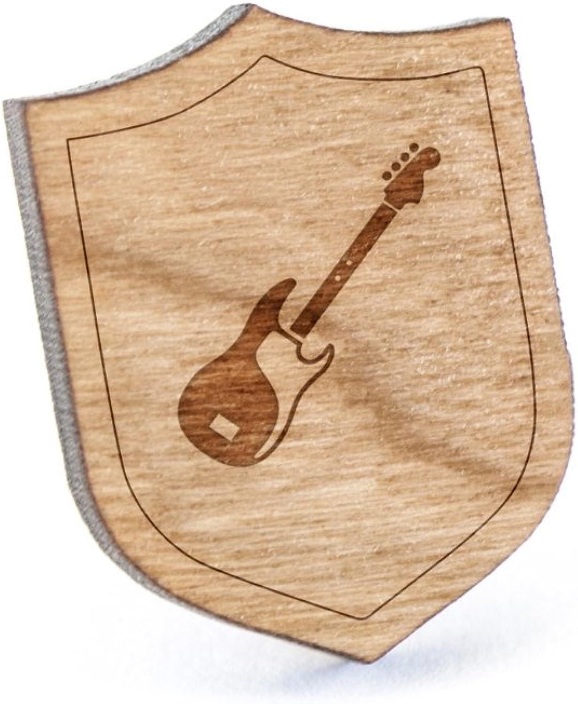 Wooden Accessories Company Pin de Madera para Solapa de bajo para ...