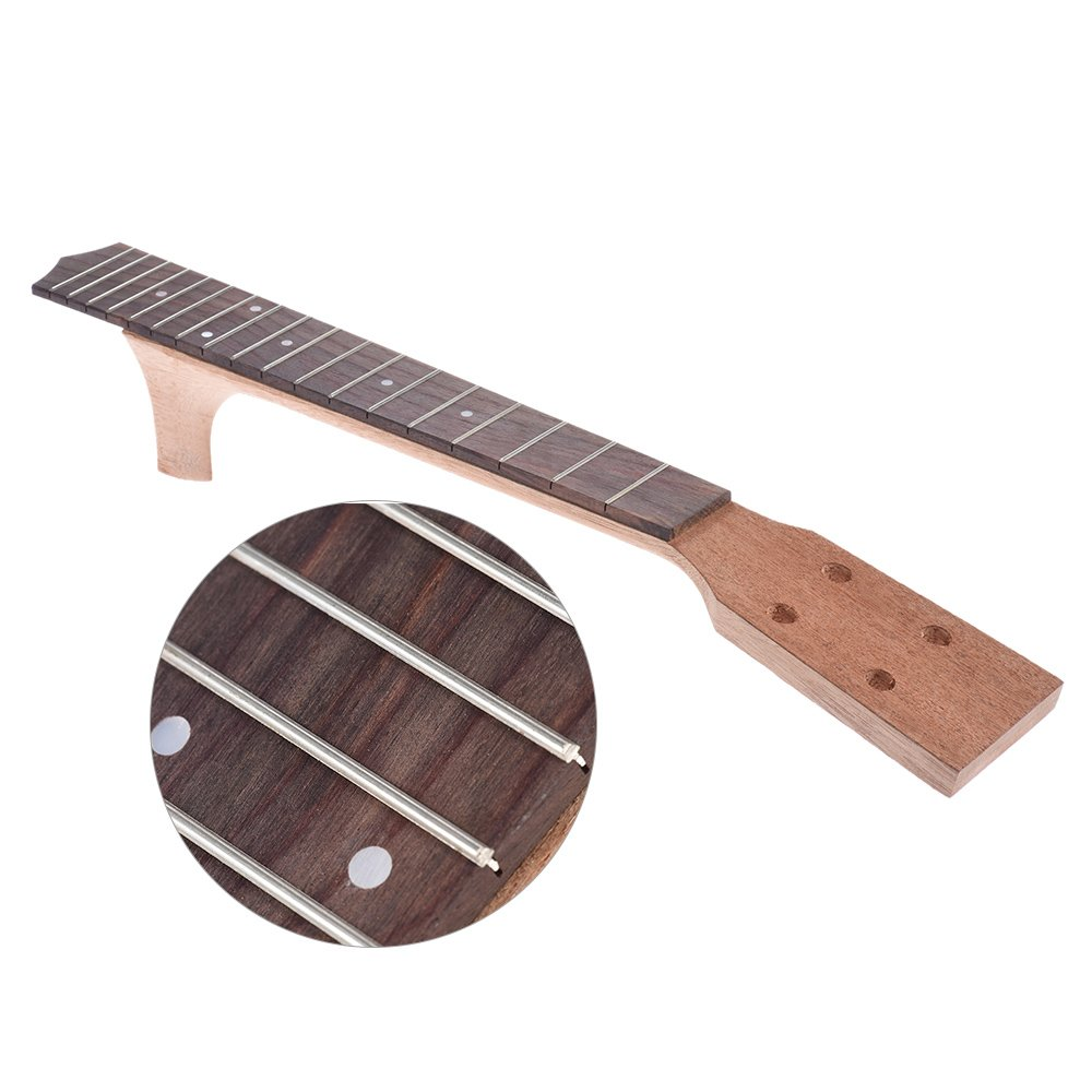 ammoon 26 Inch Tenor Ukelele Maple Wood Neck & Rosewood Fretboard Fingerboard Set Hawaiian Guitar Luthier DIY Repalcement by ammoon (Image #3)