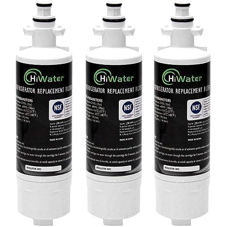HiWater repuesto para filtro de agua para refrigerador LG ...