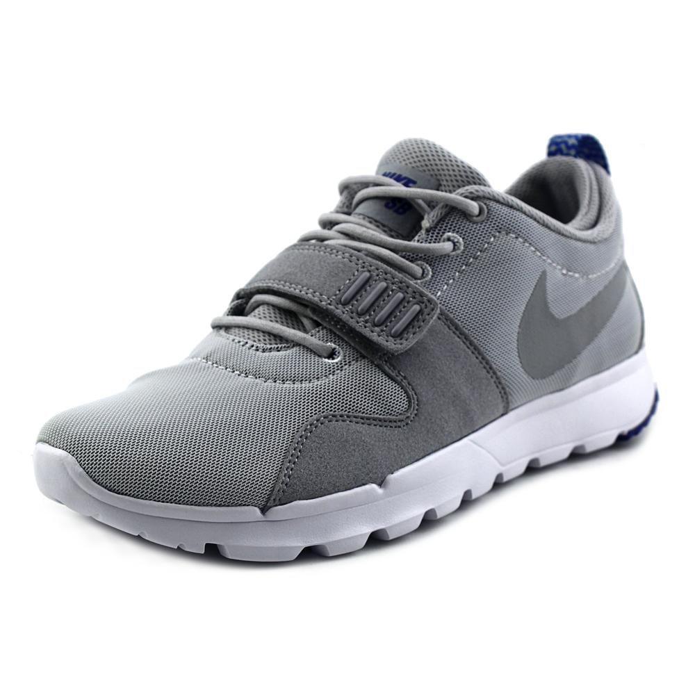 NIKE Men's Trainerendor 11 Ankle-High Skateboarding Shoe B0059CUFIG 8 D(M) US|Pure Platinum/Game Royal/White/Wolf Grey