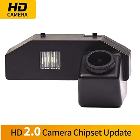 HD 1280x720p Reversing Camera Integrated in Number Plate Light License Rear View Backup Camera for Mazda RX-8 2004-2011 Mazda 6 2009-2014