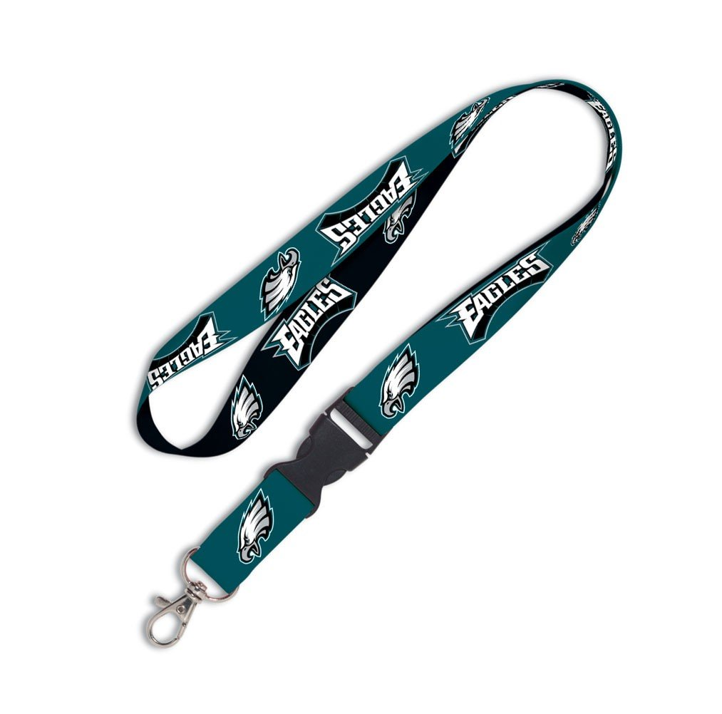 Wincraft NFL Philadelphia Eagles Lanyard with Detachable Buckle, 3/4 93653010