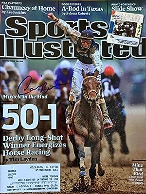 Calvin Borel KENTUCKY DERBY jockey autographed Sports Illustrated magazine 5/11/09