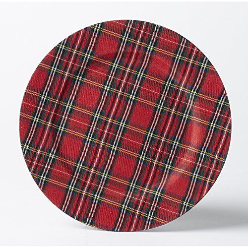 Tartan Plate Chargers - Set of 4