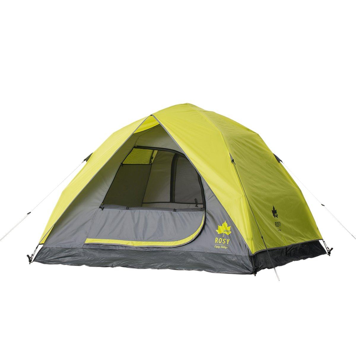 ロゴス(LOGOS) テント ROSY Q-TOP サンドーム M(2~3人用)ハーフフライ タイプ キャリーバッグ付き