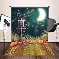 HUAYI 5x7ft Photography Backdrops Halloween Pumpkin Background Newborn Baby Photo Studio Props YJ-332