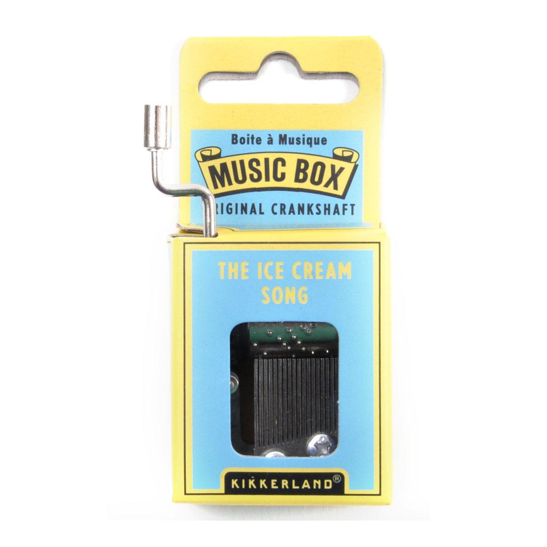 Kikkerland Amazing Grace Crank Music Box 1242