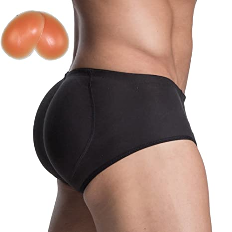 7c04081eecb41 Rosie Men s Padded Underwear Seamless Butt Lifter Hip Enhancer Shaper  Briefs