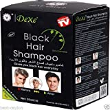 Dexe Black Hair Shampoo For Men & Women in Just 5 Minutes (25ml * 10 Sachets)