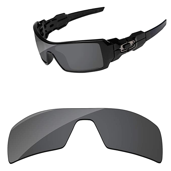 938a9086fd PapaViva Replacement Lenses for Oakley Oil Rig Black Grey: Amazon.ca ...