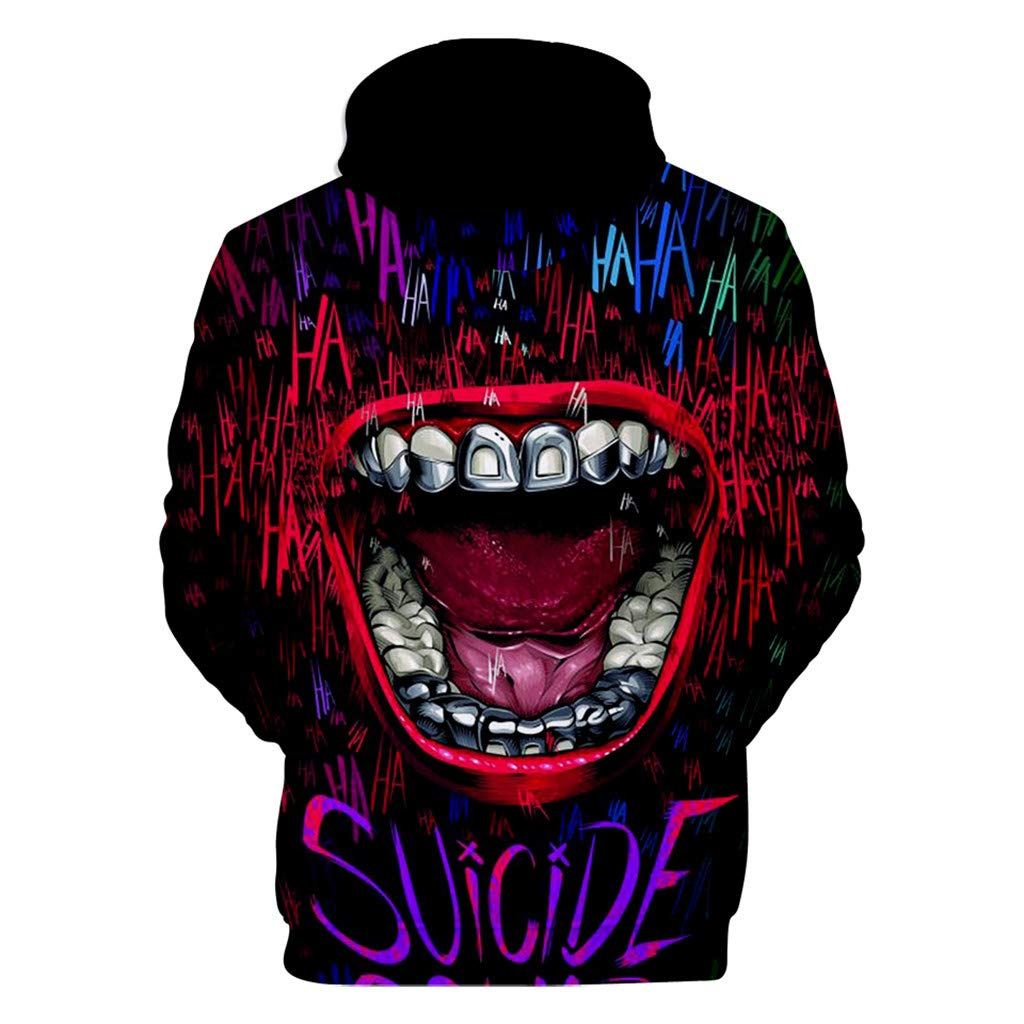 Summer Mens Fashion Hat and Laughter Printed Leisure Sanitary Clothes Tops