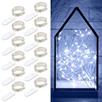 Deals on 12-Packs Govee 20 LEDs Fairy String Lights, 3.3-ft B7304