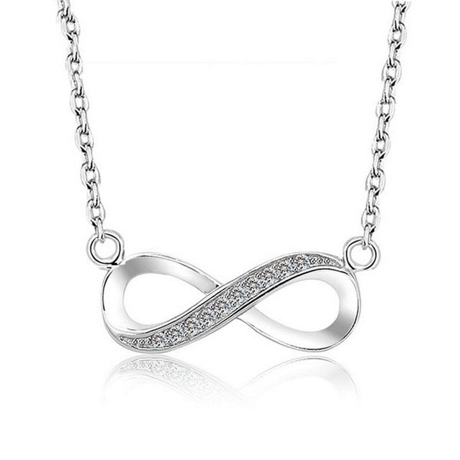MMC Womens Necklaces Pendants Infinity Silver Jewelry