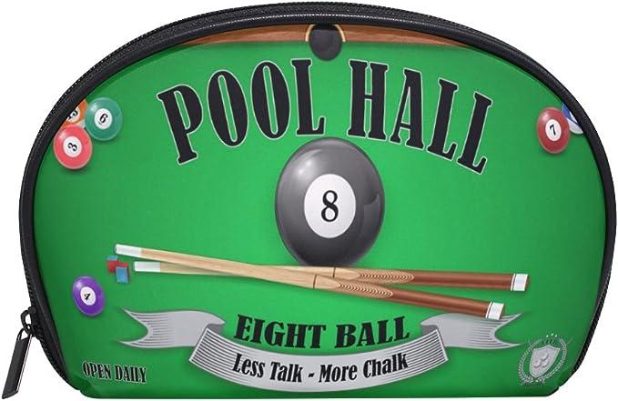 coosun billar Pool Hall Póster Eight Ball neceser de maquillaje de ...