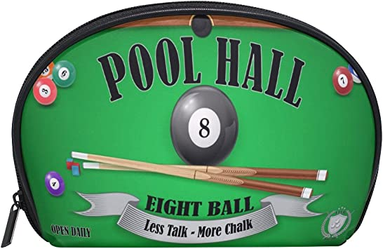 coosun billar Pool Hall Póster Eight Ball neceser de maquillaje de ...