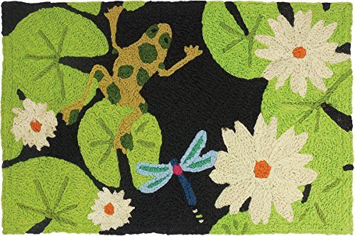 Green Frog Outdoor Furniture (Jellybean Lily Pad & Frog Indoor/Outdoor Rug 21