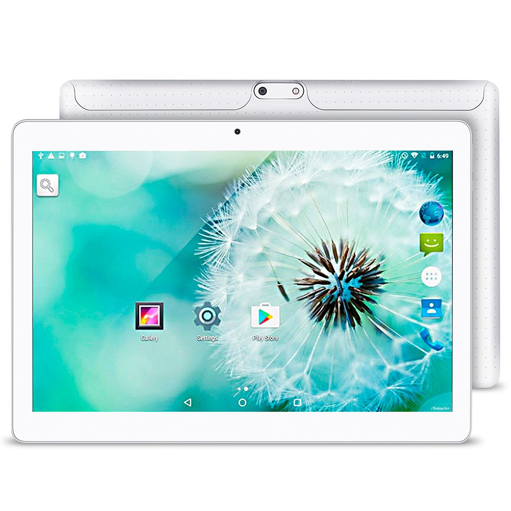 10.1 Inch Android 5.1 Tablet Dual SIM Card Slots Cell Phone Tablet PC 2G/3G/Wifi 1GB+16GB MTK 6580 Quad-Core IPS 800x1280 Touch Screen