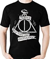 Camiseta Harry Potter Relíquias Da Morte Geek Camisa Blusa