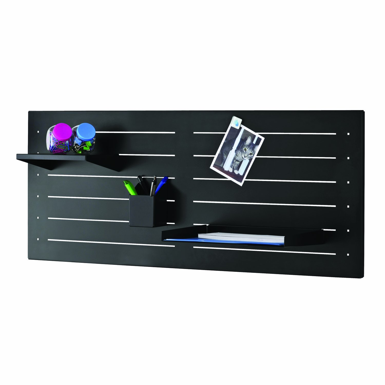 1 Shelf Piece 264P20250 Silver 8 by 6 by 1.75-Inch Steelmaster Slot System Small Shelf Only